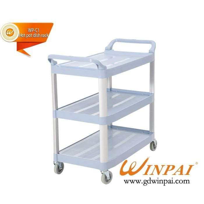 Hotel Continental Plastics mobile dining car-WINPAI