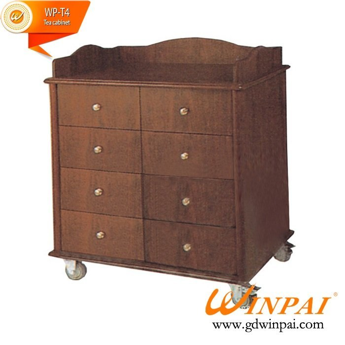 Manufacturers supply good quality and cheap hotels cupboard cabinets tea cabinet by WINPAI