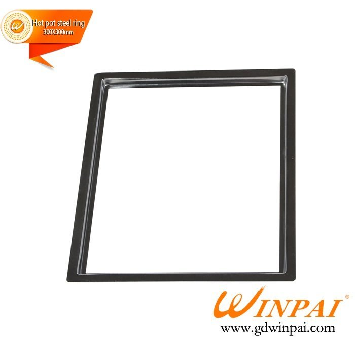 Professional custom Square Stainless Steel Hot Pot Pot Ring-WINPAI