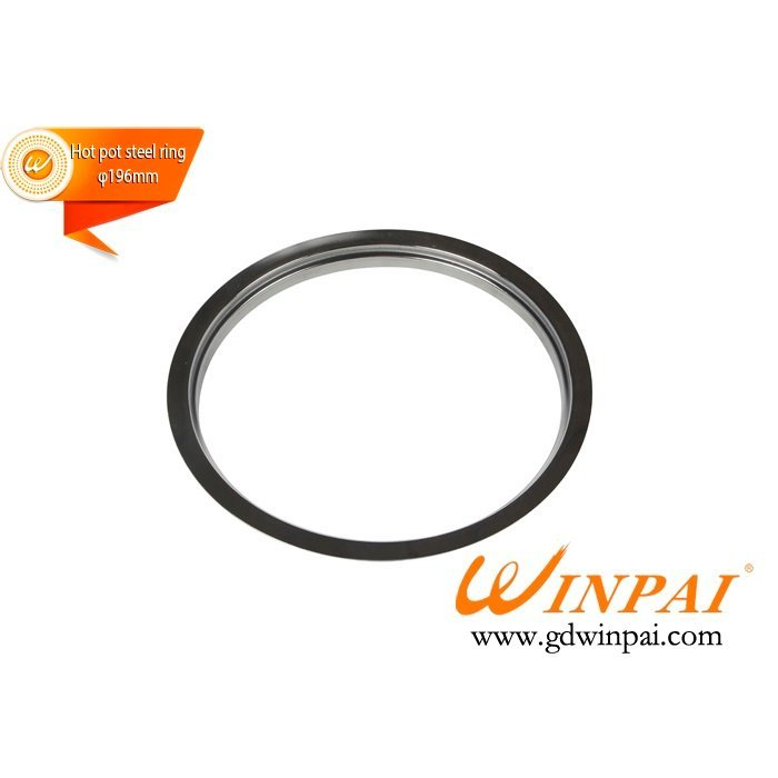 Round Stainless Steel Hot Pot Pot Ring-WINPAI