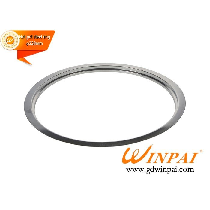 328mm Round Stainless Steel Hot Pot Pot Ring-WINPAI