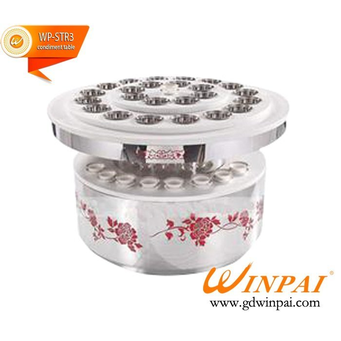 New table condiment organizer hotpot manufacturers for restaurants