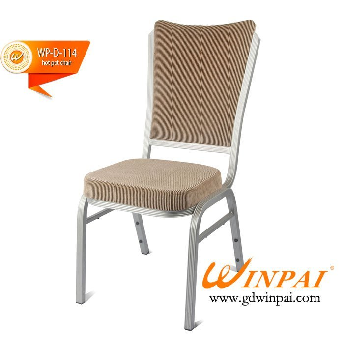 Fancy Hotpot Chair,Metal Dining Chair produced by WINPAI