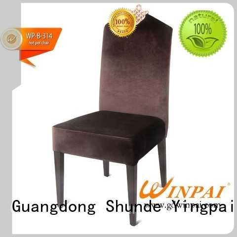 WINPAI chairs metal cafe chairs sale manufacturers for home
