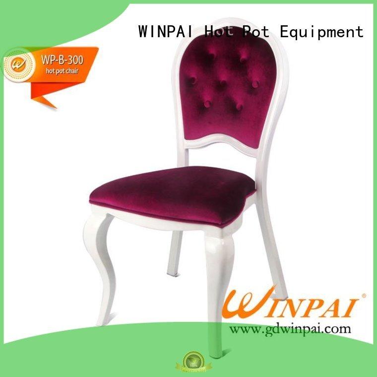 comfortable Metal hot pot chair chair manufacturer for restaurant