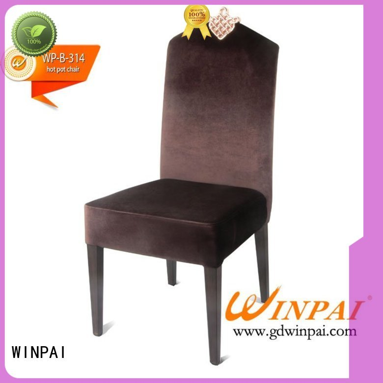 WINPAI reception Chairs For Hotel manufacturer for indoor
