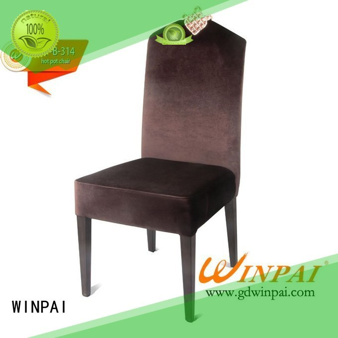 WINPAI produced galvanized metal dining chairs for business for home