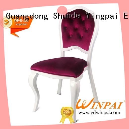 Latest custom hot pot chair restaurant factory for indoor