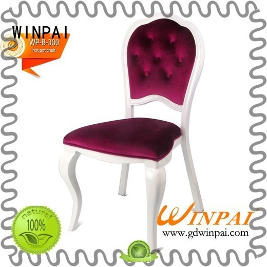 Latest galvanised steel dining chairs winpai for business for home