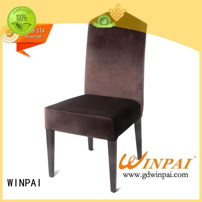 High-quality Hotpot Restaurant Chair banquet factory for restaurant