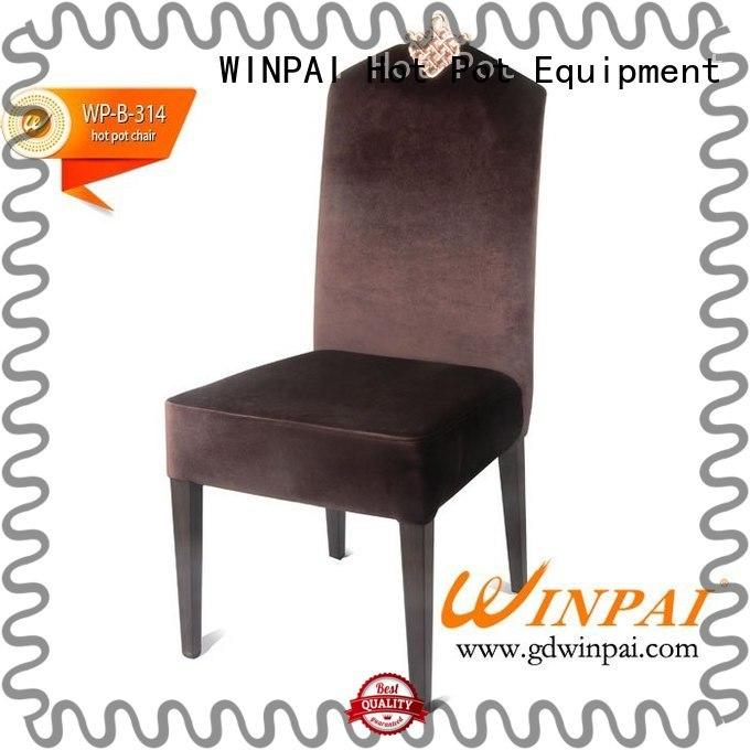 WINPAI comfortable Metal hot pot chair series for home