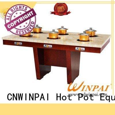 CNWINPAI Brand popular table shabu pot board square