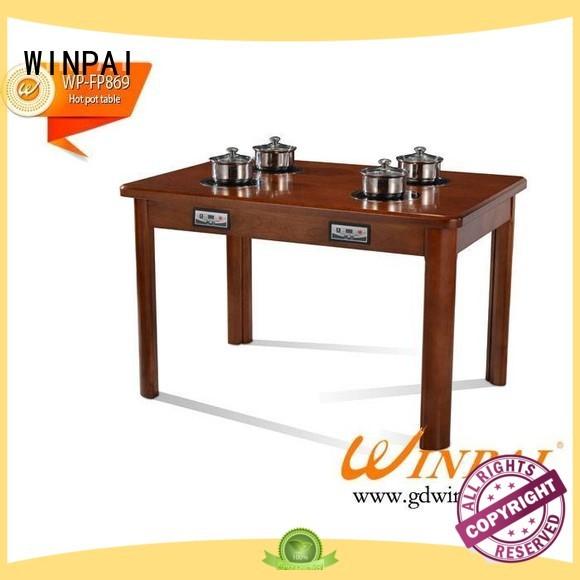 WINPAI professional hot pot plate manufacturer for restaurant