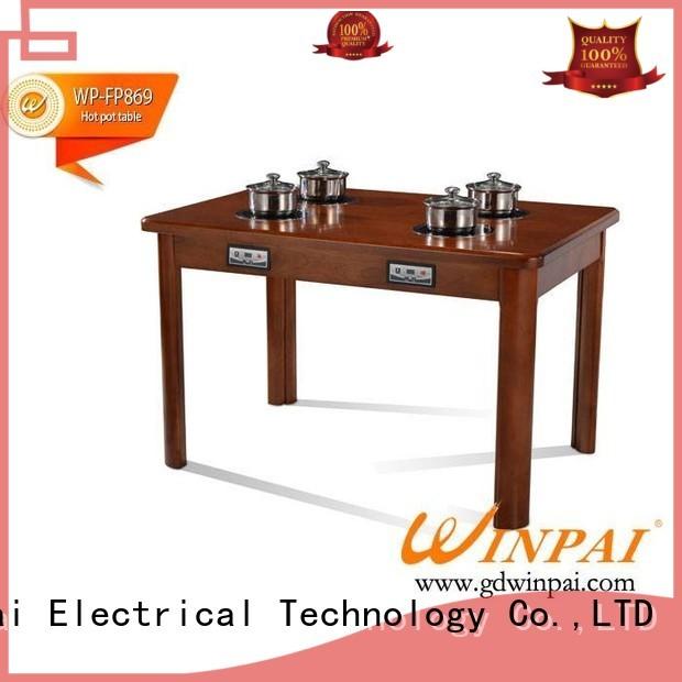 WINPAI Best shabu pot manufacturer for cafe