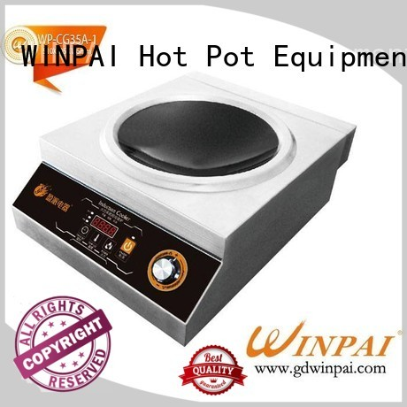 WINPAI professional new induction stove for business for villa