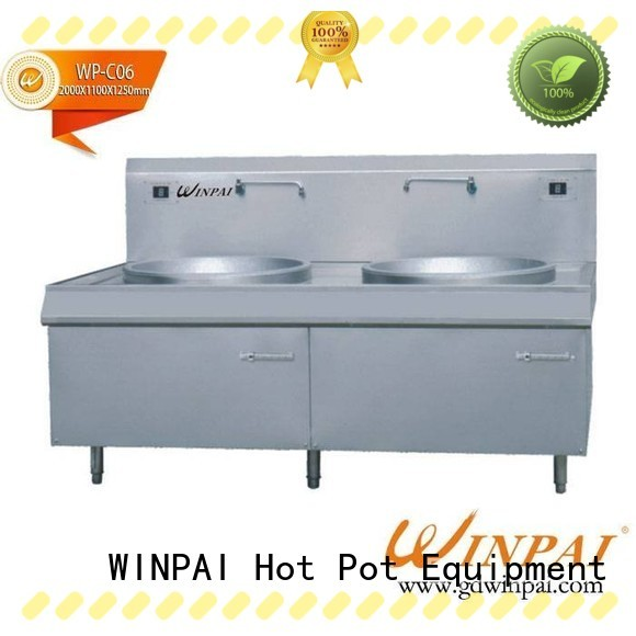 WINPAI cooking pans induction hobs manufacturer for villa