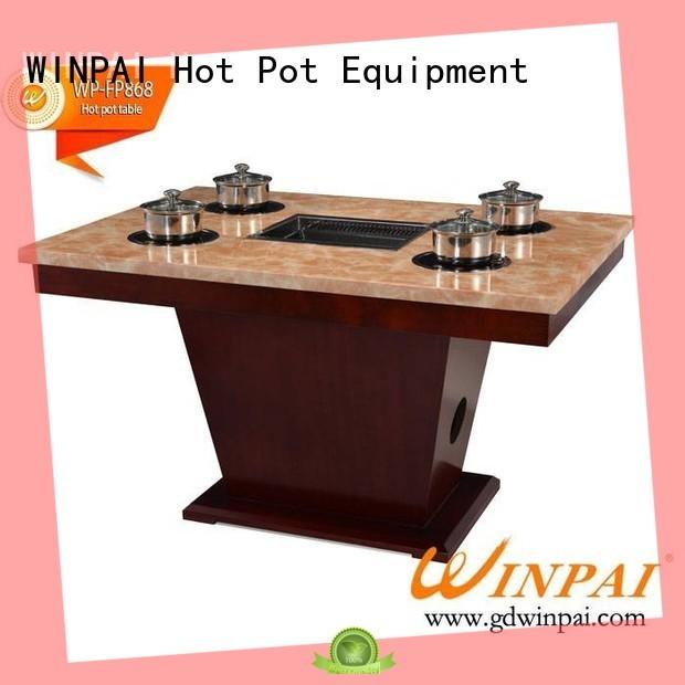 shabu shabu pot artificial for cafe WINPAI