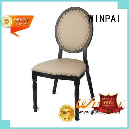 Nice design hot pot chair,comfortable dining chair,hotel chair-WINPAI