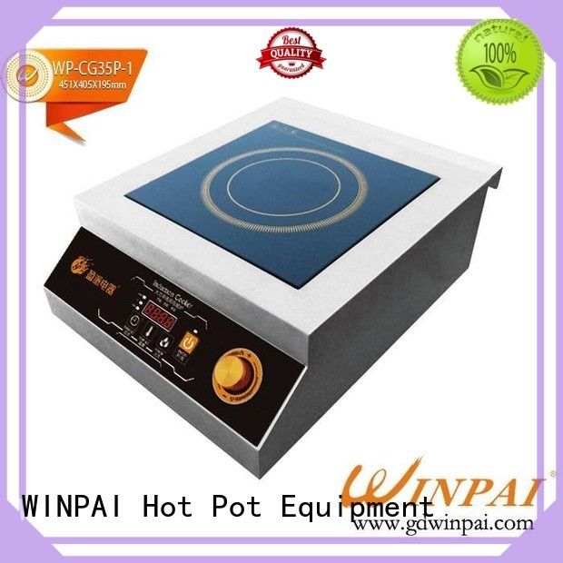 excellent induction cookware plate cnwinpai company for villa