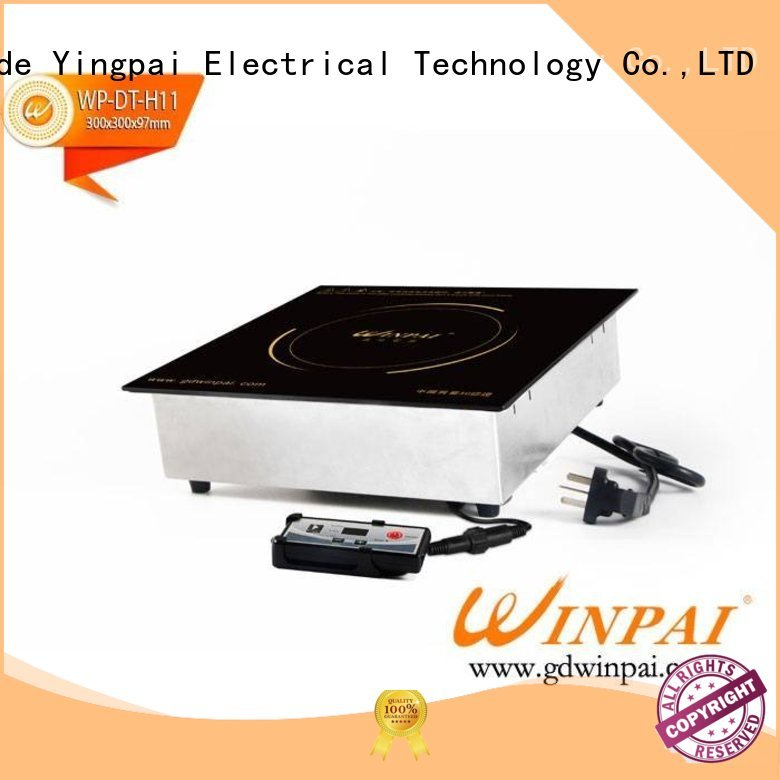 WINPAI safety induction cookware plate factory for indoor