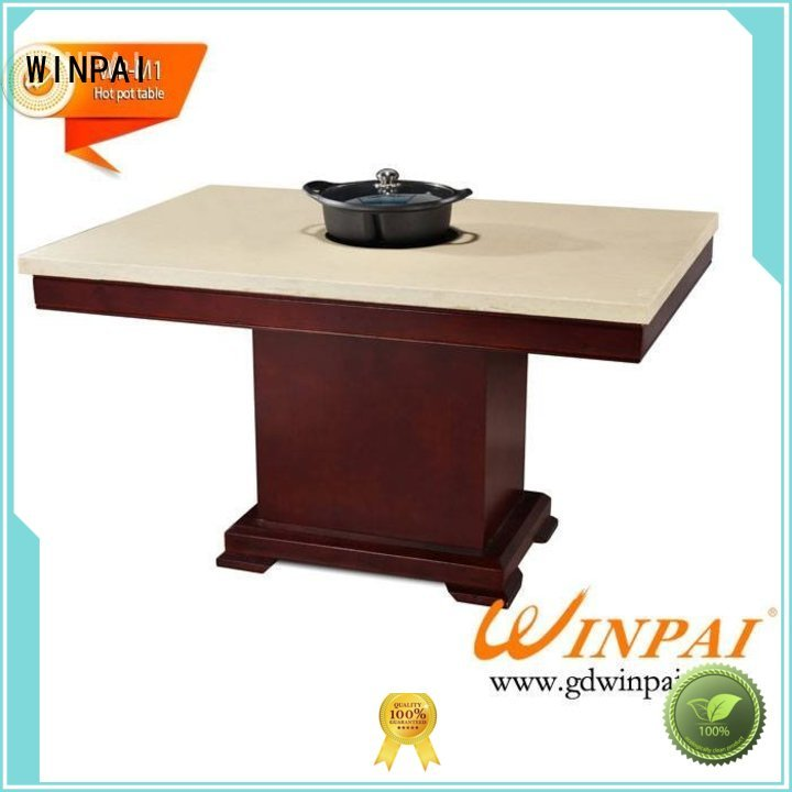 WINPAI Best chinese steamboat pot manufacturer for hotpot city