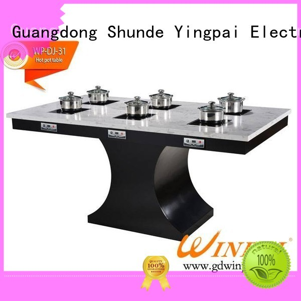 WINPAI restaurant shabu pot Suppliers for restaurant