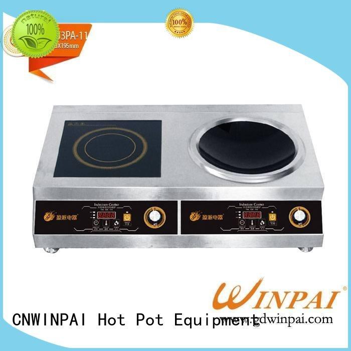 restaurantshotelktvwinpai restaurantparty cooking two CNWINPAI Brand hot pot cookware supplier
