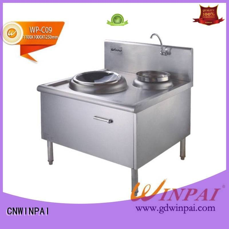 CNWINPAI round double hot pot cookware single touch
