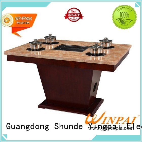 WINPAI Top chinese hot pot sale manufacturers for star hotel