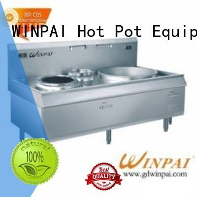 WINPAI single cook induction heating manufacturer for restaurant