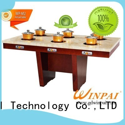 Hot chairdining shabu pot quality WINPAI Brand