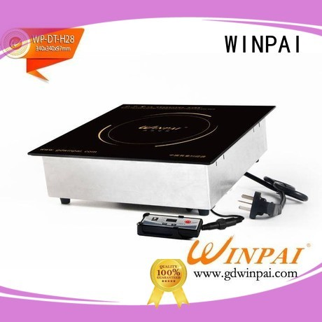WINPAI round copper hot pot manufacturer for restaurant