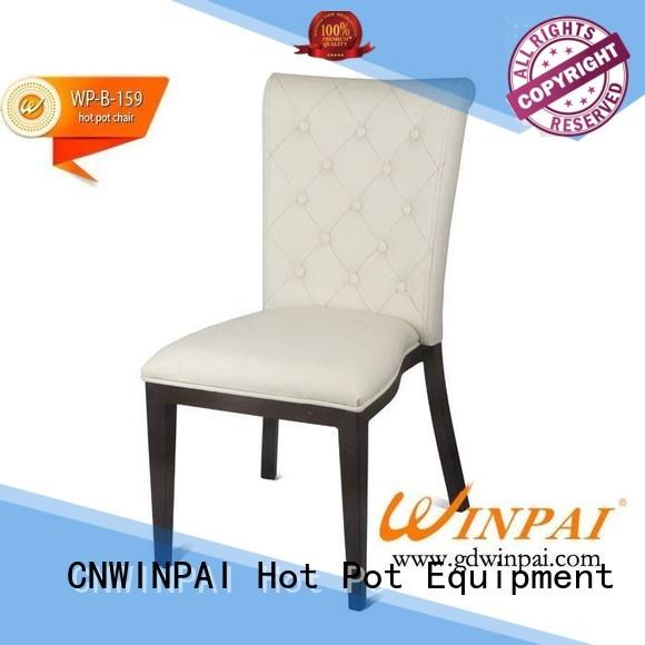 CNWINPAI Brand box low smokeless Metal hot pot chair manufacture