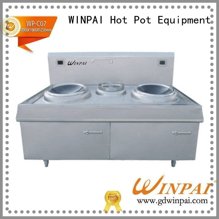WINPAI high efficiency infusion stove supplier for villa