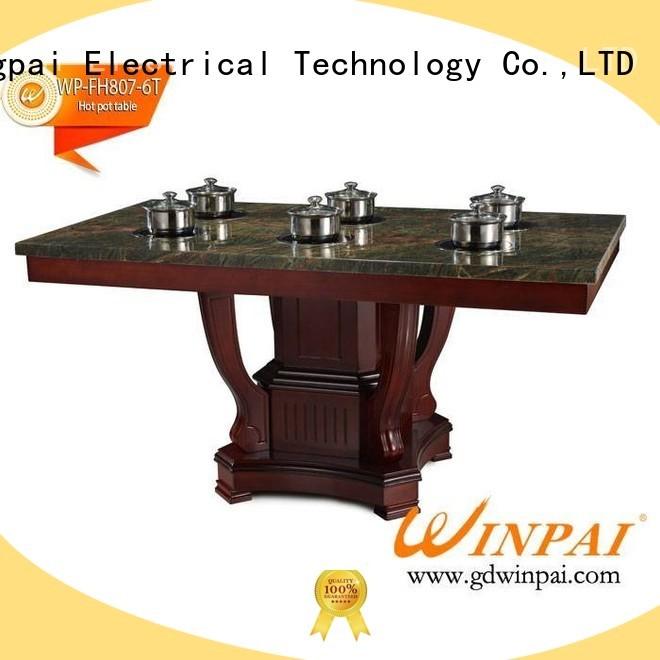 tables hot pot stockpot supplier for restaurant