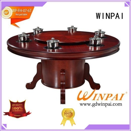 WINPAI table chinese hot pot items Supply for restaurant