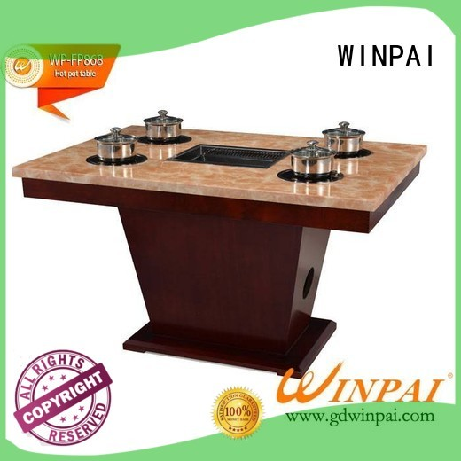 WINPAI high quality combination hot pot manufacturers for restaurant
