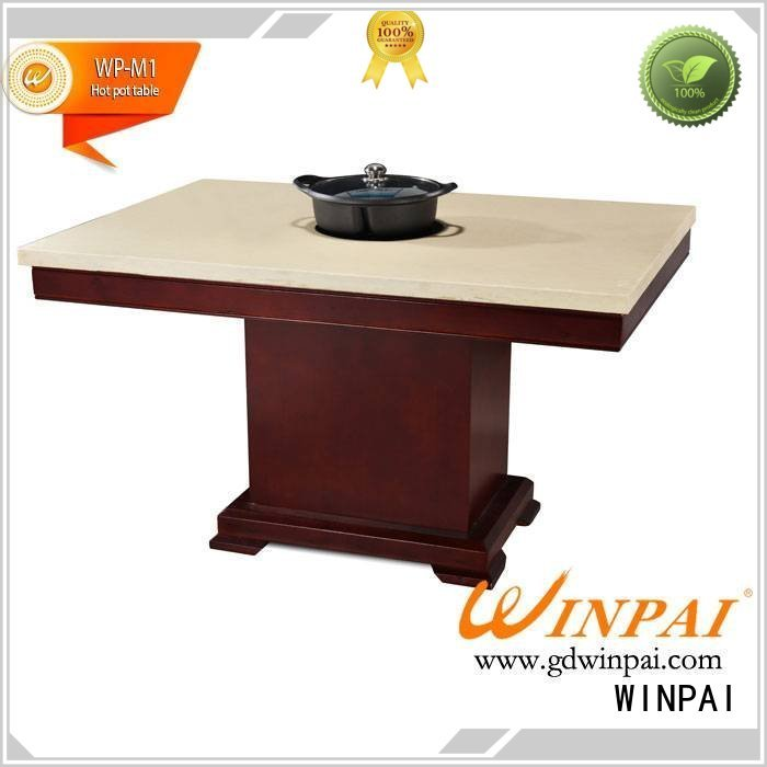 WINPAI safety hot pot stockpot series for cafe