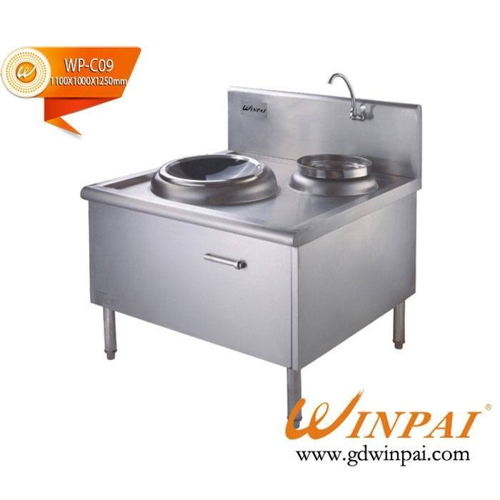 Commercial single wok induction cooker-WINPAI