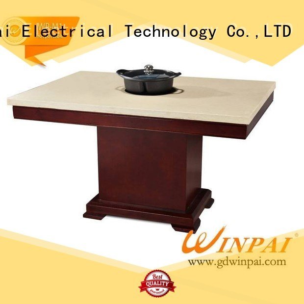 WINPAI supplied hot pot plate manufacturer for restaurant