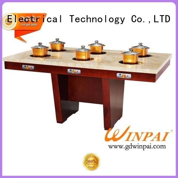series shabu shabu pot manufacturer for star hotel WINPAI