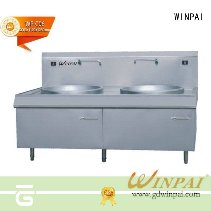 WINPAI smokeless copper stew pot manufacturer for indoor