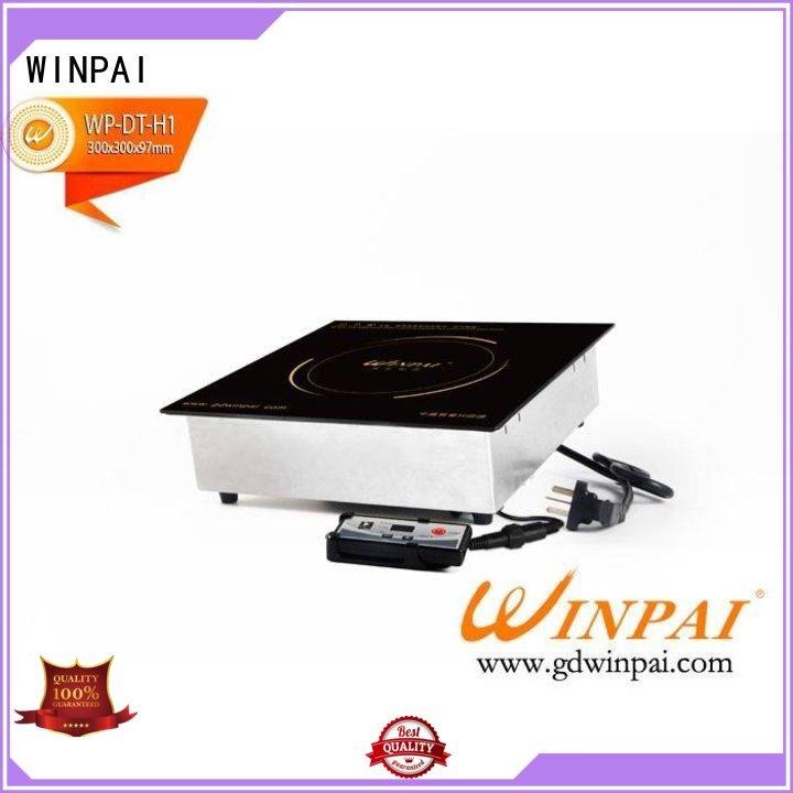 WINPAI round hot pot cooker series for villa