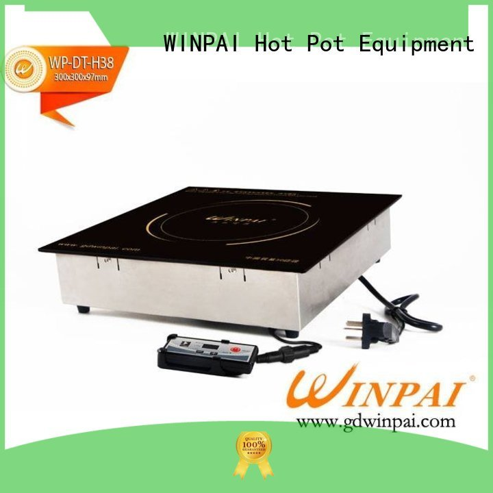 WINPAI excellent copper stock pot manufacturer for villa