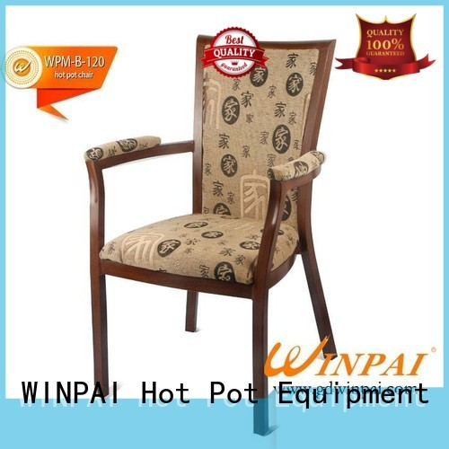 WINPAI Latest Metal Dining Chair factory for dinning room