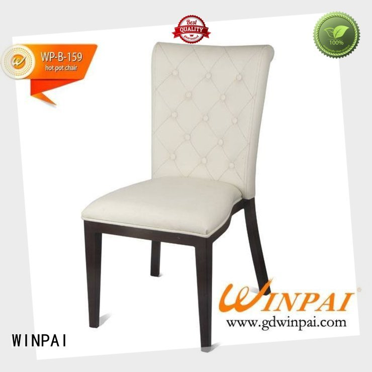 WINPAI Top Hotel Aluminum Chairs company for indoor