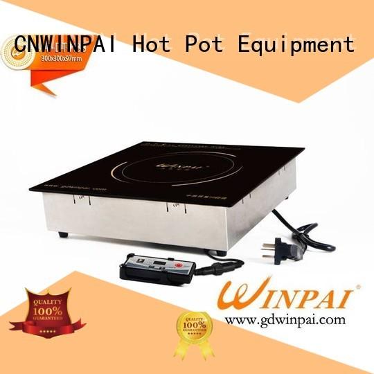 copper stock pot metallike hot pot cookware CNWINPAI Brand