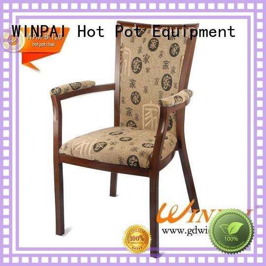 Restaurant hot pot and Aluminum armrest chair of WINPAI