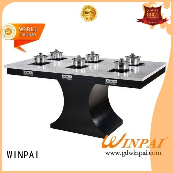 WINPAI Brand anti table equipment shabu pot