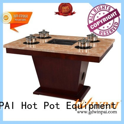 High-quality barbecue picnic table cast company for restaurant